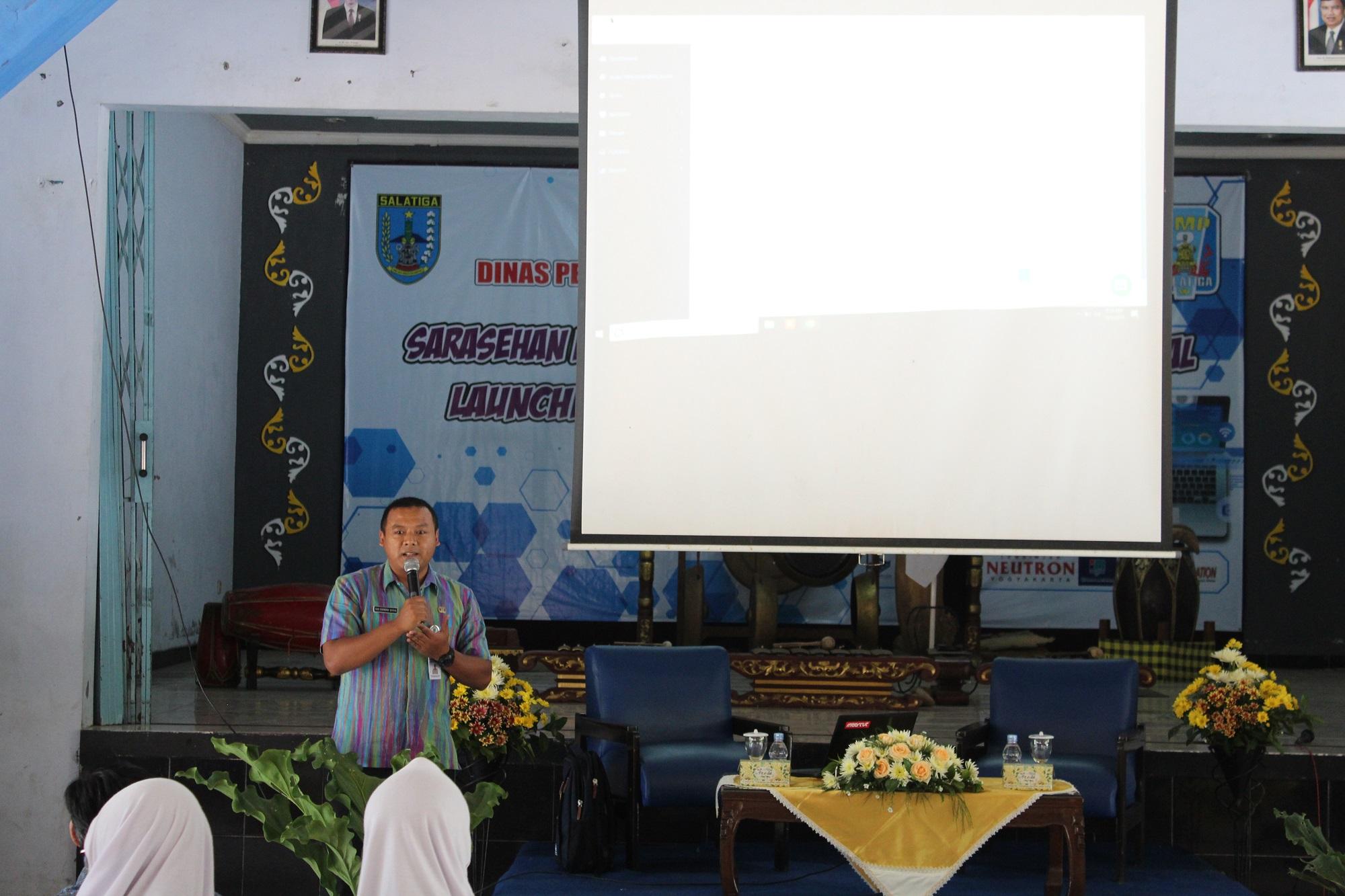 SMP 2 Salatiga Luncurkan Perpustakaan Digital 'Prakasita Digital Library'