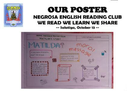 English Reading Club Poster