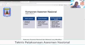 Kepala SMPN 2 Salatiga: Pemateri Dalam Bimtek AKM Nasional PGRI Kota Salatiga