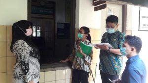 Puskesmas Sidorejo Lor Pantau Kesiapan PTM SMP Negeri 2 Salatiga