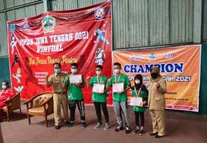Axel: Juara 3 Popda Karate Tingkat Nasional
