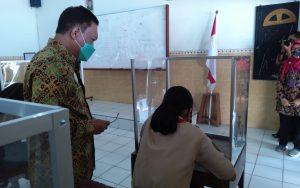 Kepala Kemenag Salatiga: Tinjau Pelaksanaan Ujian Sekolah Agama