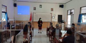 Uji Coba PTM Jateng: Peserta Didik Kelas 7