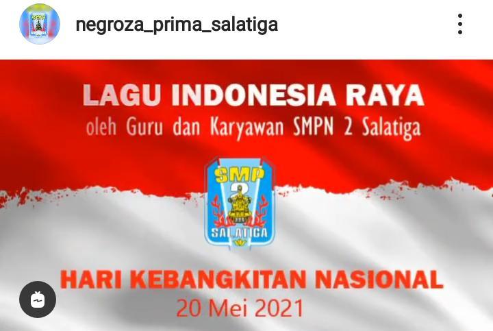 Hari Kebangkitan Nasional: Seluruh Pendidik dan Karyawan Menyanyikan Lagu Indonesia Raya