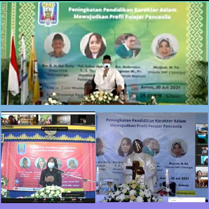 Webinar SMP Negeri 2 Salatiga: Peningkatan Pendidikan Karakter dalam Mewujudkan Profil Pelajar Pancasila