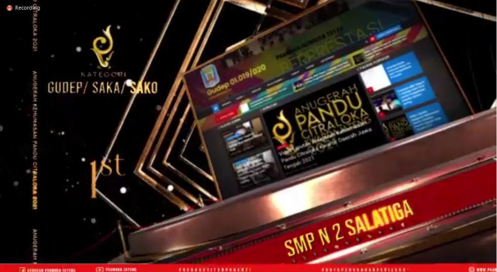 Pramuka SMP Negeri 2 Salatiga: Juara 1 Lomba Website Pramuka Tingkat Kwarda Jawa Tengah