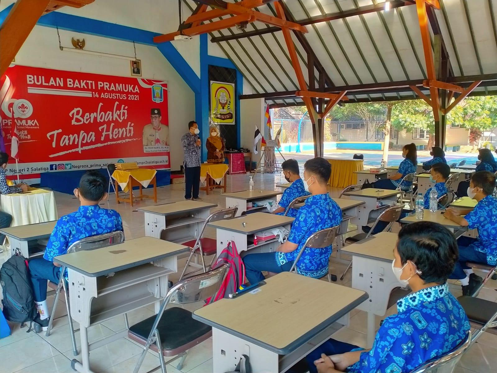 SMP Negeri 2 Salatiga Ikuti Simulasi Asesmen Nasional LPMP Provinsi Jawa Tengah