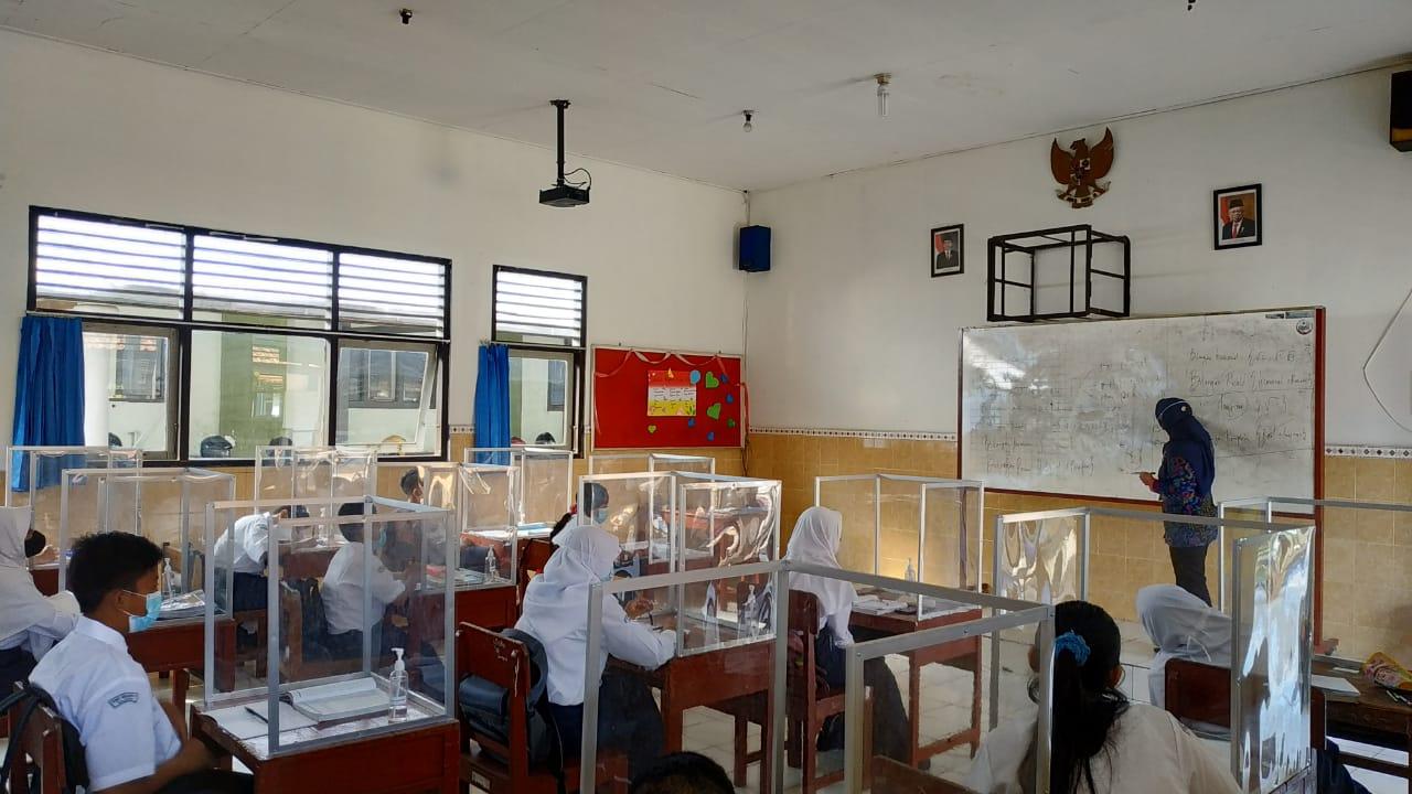 SMP Negeri 2 Salatiga Laksanakan Pembelajaran Tatap Muka Tahun Pelajaran 2021/2022