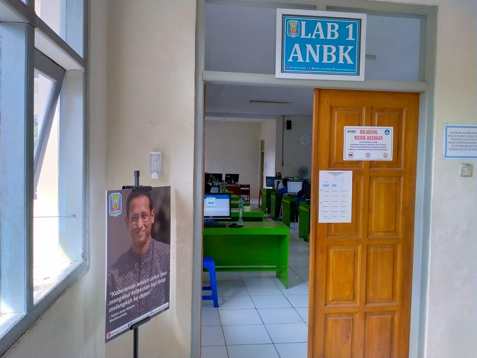 SMP Negeri 2 Salatiga Ikuti Asesmen Nasional Berbasis Komputer (ANBK) yang Diselenggarakan oleh Kemendikbudristek