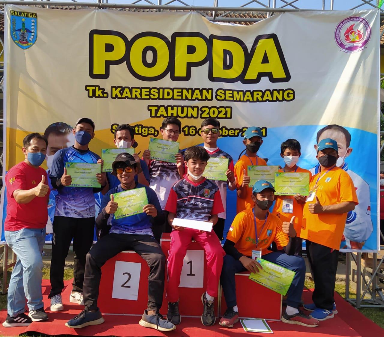 Anshara Farrel Firlana, Kuananta Astra Mahendrata dan Steven Christian Setiyanto: Menjadi Juara dalam POPDA Panahan Tingkat Karesidenan Semarang
